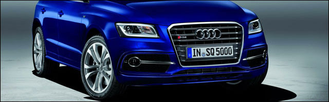 photo video presentation SUV Audi SQ5 TDi diesel 4x4 sportif