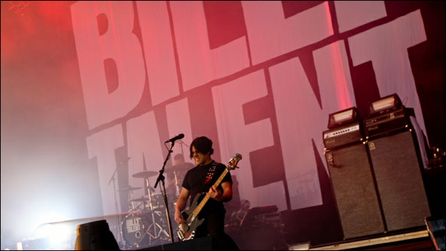 photo video hd concert Billy Talent live Rock am Ring 2012 RAR Rock im Park