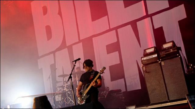 photo video hd concert Billy Talent live Rock am Ring 2012 RAR Rock im Park