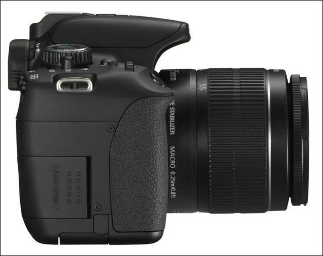 photo et video presentation nouveau apn reflex Canon EOS 650D modele 2012