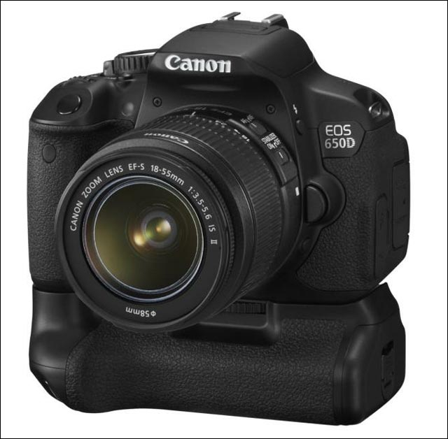 photo et video presentation nouveau apn reflex Canon EOS 650D modele 2012