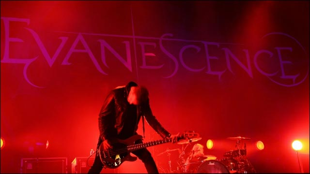 photo video hd concert Evanescence Rock am Ring 2012 RAR Rock im Park
