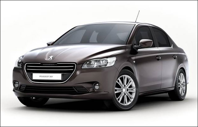 presentation photo nouvelle Peugeot 301 sedan tricorps coffre sortie 2013