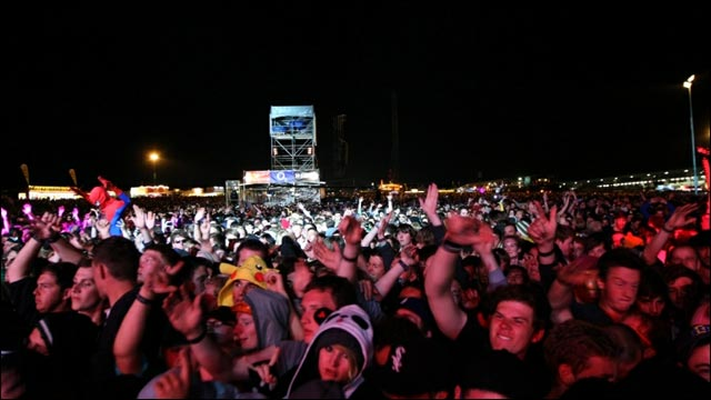 photo video hd concert live Skrillex Rock am Ring 2012 RAR Rock im Park setlist