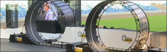 double looping buggy 720 degres video emission Top Gear UK record du monde