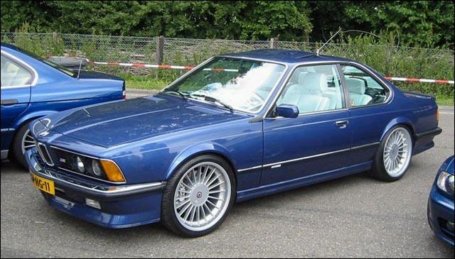 BMW M635CSi sportive ///M coupe 1980