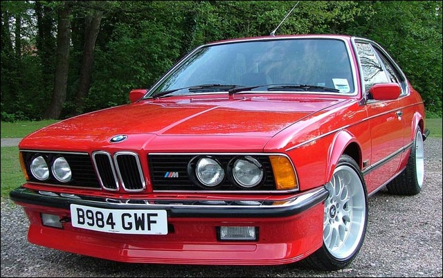 BMW M635CSi sportive ///M coupe 1980