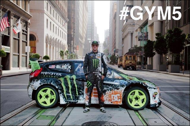 Ken Block video hd Gymkhana 5 dans rues San Francisco video drift extreme