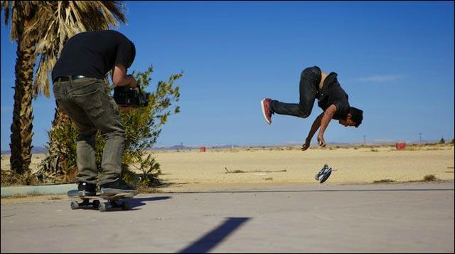 Kilian Martin film Skate Revolution video hd Altered Route skateboard acrobate