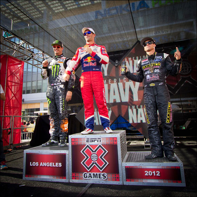 video finale rallycross victoire Xgames Sebastien Loeb Citroen DS3 Rallycross XL