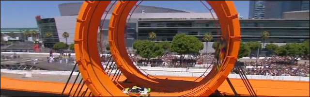 X-Games 2012 crash video hd practice rallycross HotWheels accident voiture