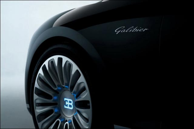 photo nouvelle Bugatti 16C Galibier concept car salon auto 2013 2014