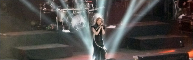 photo video hd Epica live concert Foire aux Vins Colmar 2012 FAV