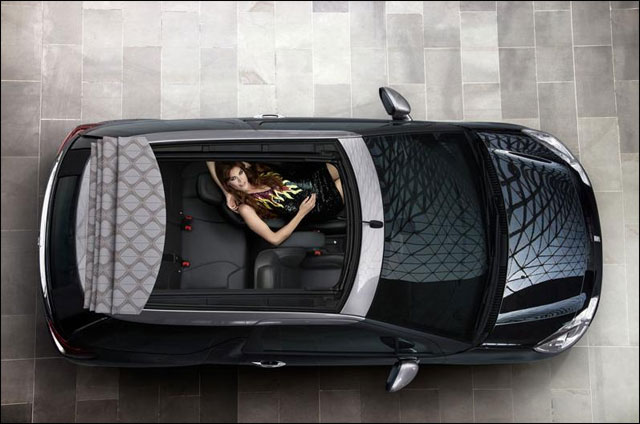 photo hd Citroen DS3 cabriolet Mondial Auto Paris 2012