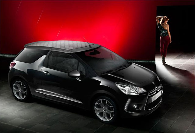photo video hd Citroen DS3 cabriolet Mondial Auto Paris 2012