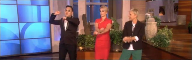 apprendre a danser gangnam style choregraphie clip video Psy Britney Spears