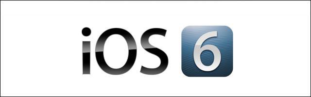 Apple iOS6 logo et presentation des nouveautes