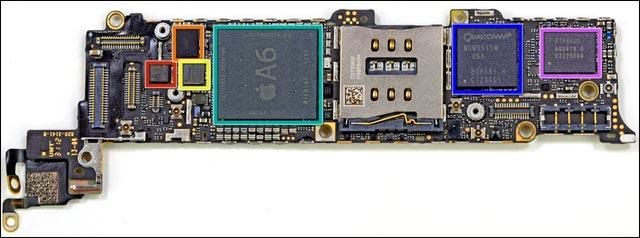 photos demontage guide reparation iPhone 5 piece detachee pas cher