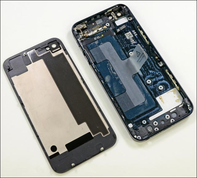 photos demontage guide reparation iPhone 5 piece detachee pas cher