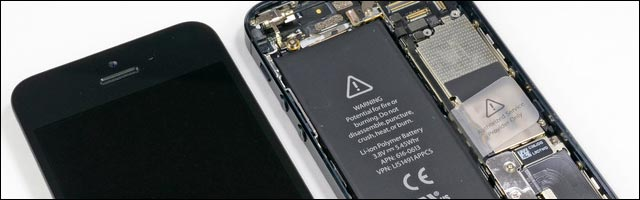 photos demontage guide reparation iPhone 5 casse