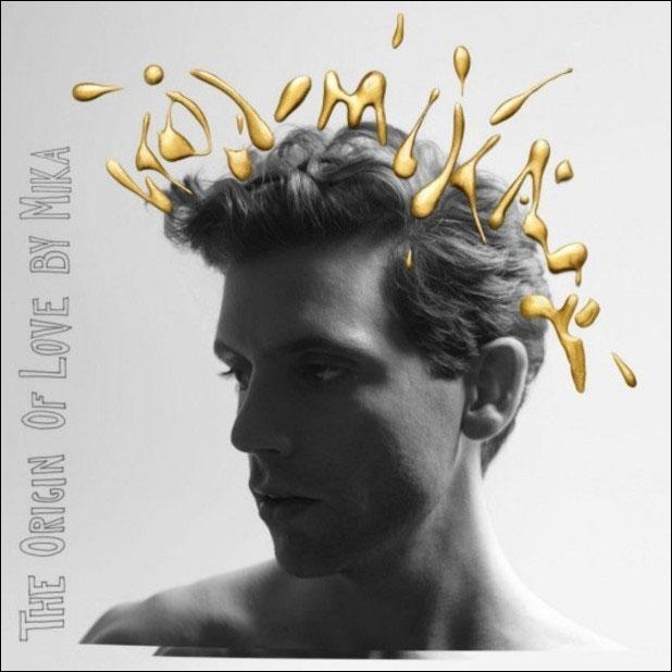 nouveau album Mika The origin of love pochette cover grande taille pour imprimer