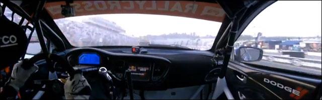 rallycross insidecam camera embarquee rallye americain Ken Block Travis Pastrana