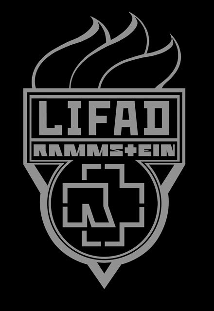 nouveau logo Rammstein LIFAD tournee concert Europe 2013