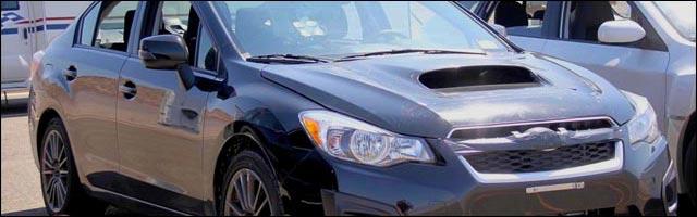 photo presentation nouvelle Subaru Impreza WRX STI 2014 salon auto 2013