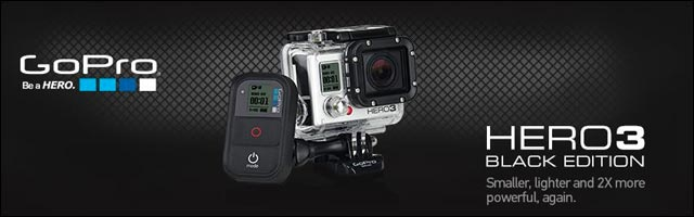 presentation nouvelle camera GoPro HD Hero3 photos videos sport extreme