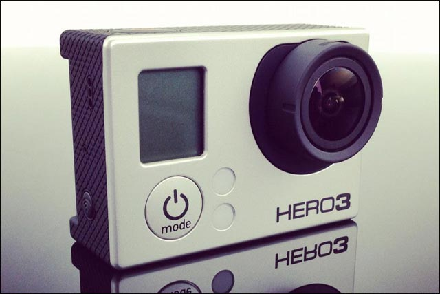photo nouvelle camera video hd GoPro Hero3 White Silver Black Edition