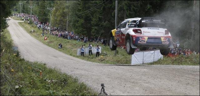 Sebastien jolie belle photo Citroen DS3 WRC rallye 2012