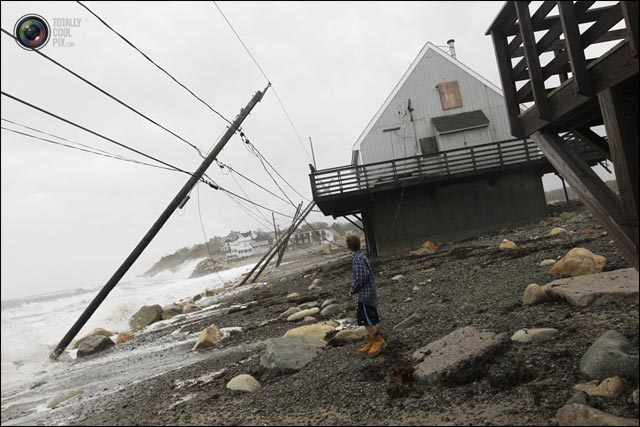 actualite photo New York apres passage ouragan Sandy 2012 NYC