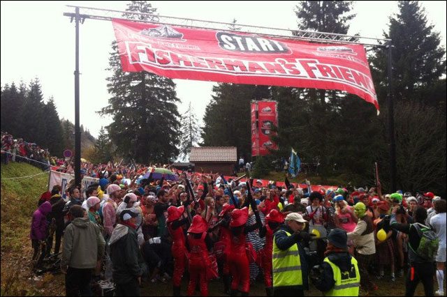 photo depart start Strongman Run France 2012 La Bresse