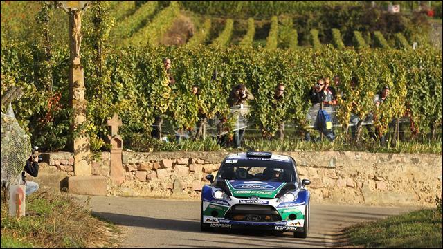 photo Ford Fiesta WRC de Petter Solberg au Rallye de France Alsace 2012