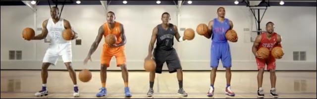 dribble NBA Noel pub video Dwyane Wade Dwight Howard