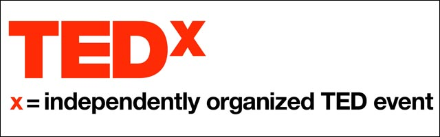 TEDx logo conference TED en France Alsace Mulhouse Kinepolis