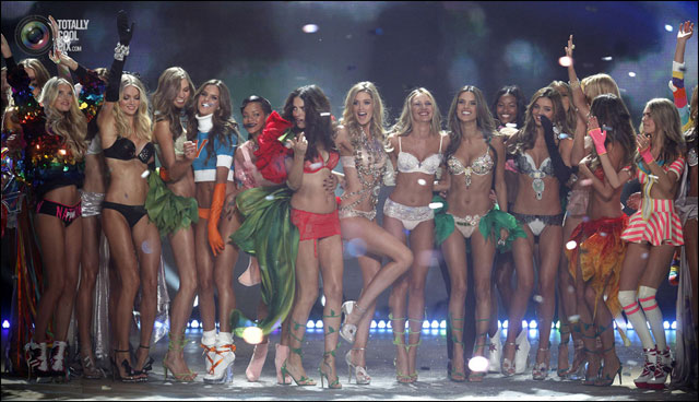 Victoria Secret 2012 Fashion Show defile New York