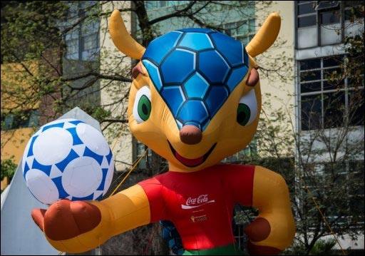 Fuleco mascotte coupe du monde football Bresil 2014 nom fail