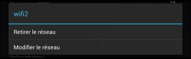 configurer proxy internet connexion wifi Android smartphone tablette Nexus