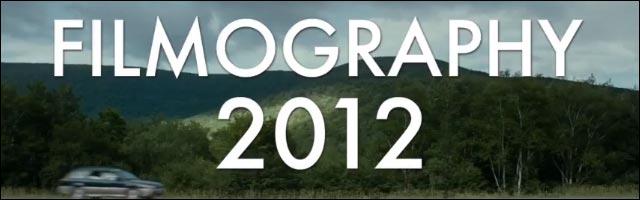 Filmography 2012 bande annonce 300 films cinema