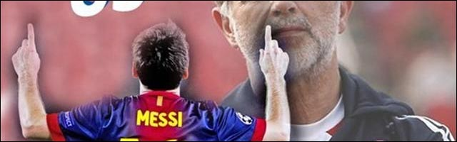 football Lionel Messi 86 buts annee 2012 record du monde