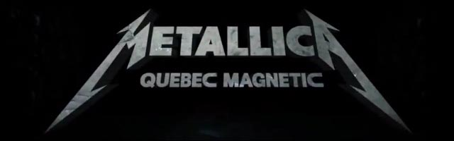 Video HD DVD BluRay concert Metallica Quebec Magnetic live Canada