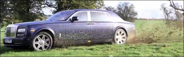 Rolls Royce Phantom drift video