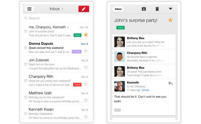 nouvelle application mobile iOS pour iPhone et iPad