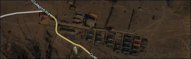 Google Maps Coree du Nord carte goulag camp