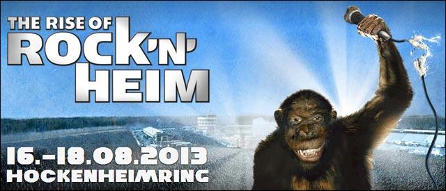 RocknHeim concert rock festival Allemagne circuit Hockenheim