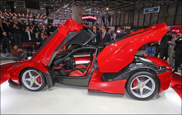 Ferrari hybride LaFerrari presentation premiere mondiale Salon Auto Geneve 2013