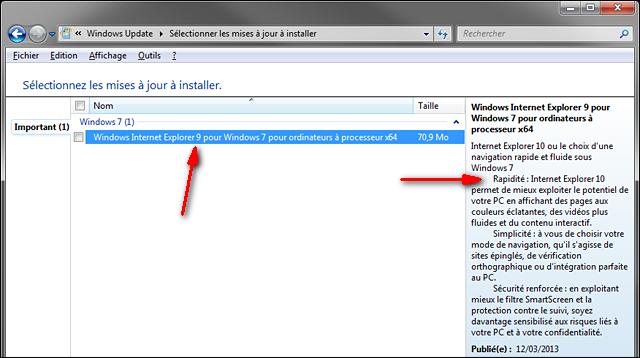 Internet Explorer IE10 IE9 Windows7 x64