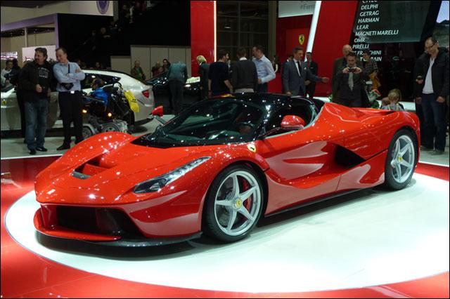 photo Ferrari LaFerrari salon auto Geneve 2013