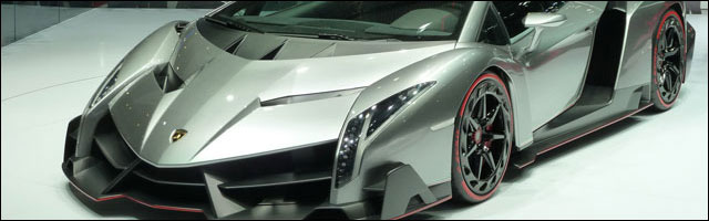 photo Lamborghini Veneno salon auto Geneve 2013
